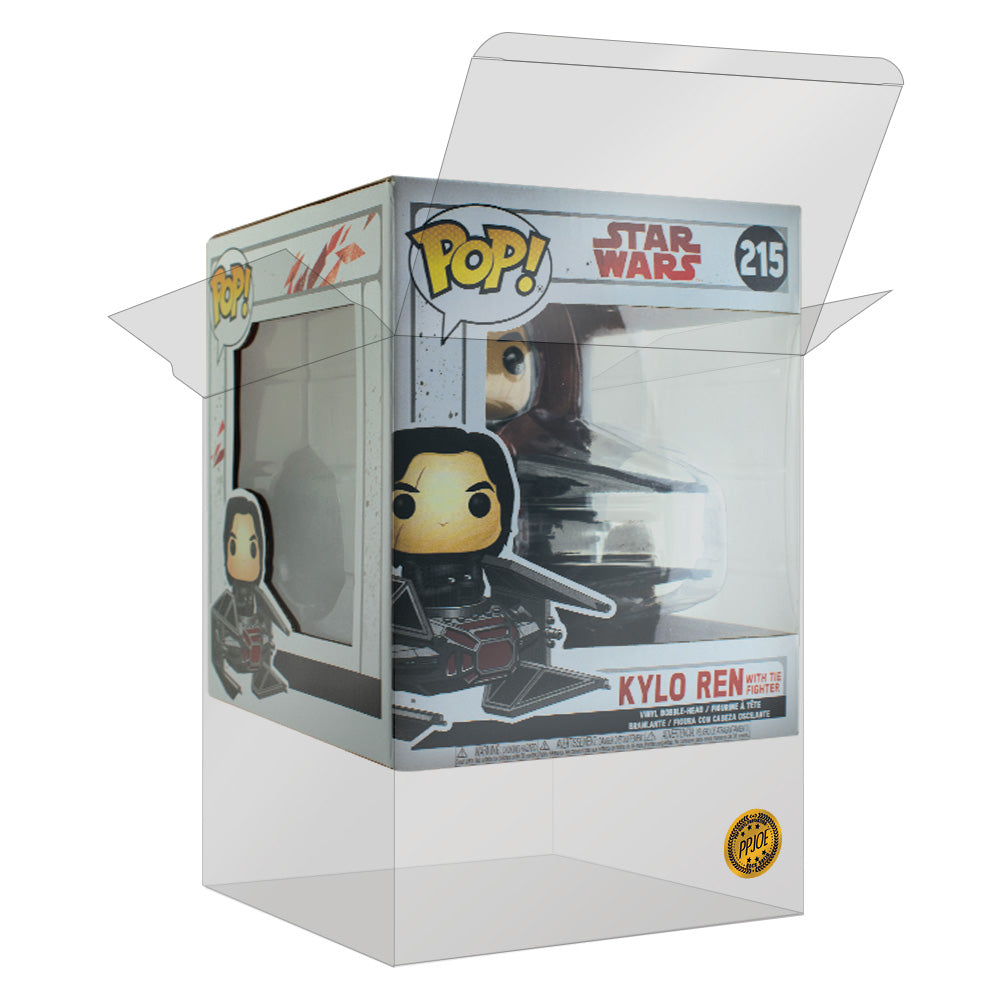 PPJoe Star Wars Kylo Ren with Tie Fighter / Deadpool-Einhorn Pop Protektor