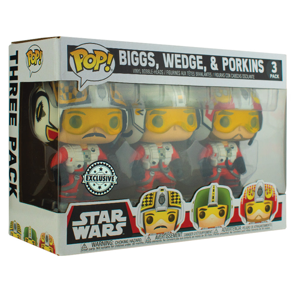 PPJoe Star Wars 3 Pack Biggs/Lobot Pop Protektor