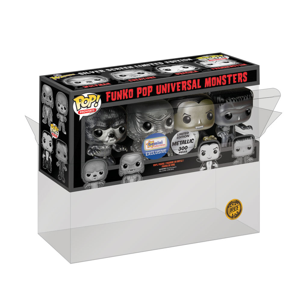 PPJoe 4 Pack (quad) Funko Pop Protektor