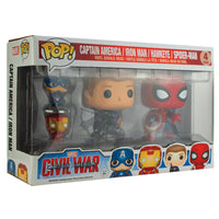 PPJoe Civil War 4 Pack (Key chain pack) Funko Pop Protektor