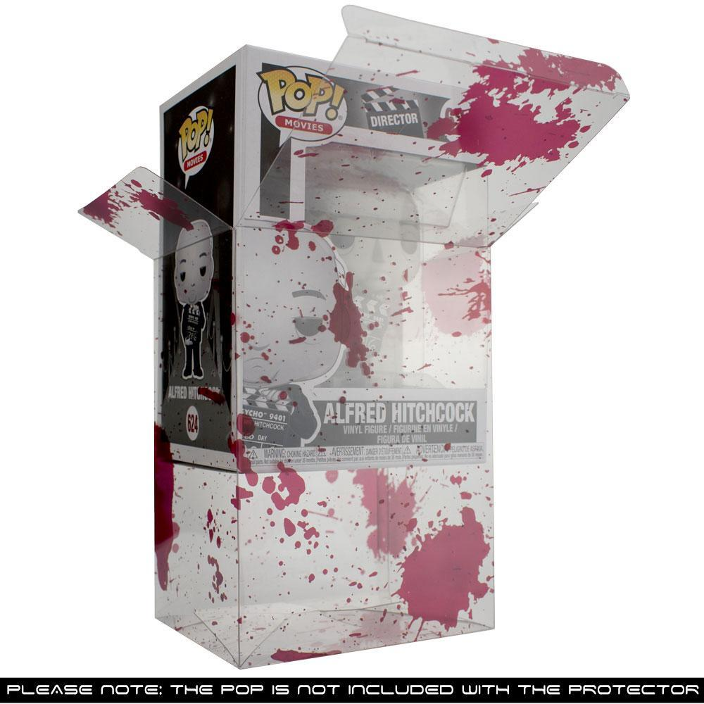 "PPJoe 4"" Blood Splattered, 0,45mm Funko Pop Protektor - [10 Stück]"