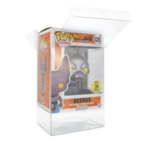 "UV Protection / Scratch Resistant 0,5mm 4"" Funko Pop Protektor - [10 Stück]"