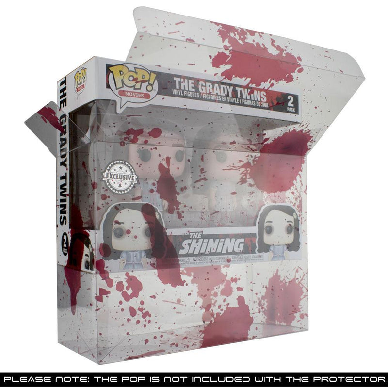 PPJoe 2 Pack (Double) Blood Splattered Funko Pop Protektor