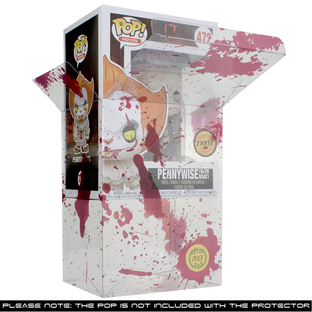 "PPJoe 4"" Blood Splattered, 0,45mm 4"" Funko Pop Protektor [einzeln]"