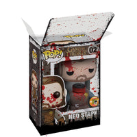 "PPJoe 4"" Walking Dead, 0,45mm 4"" Funko Pop Protektor - [10 Stück]"