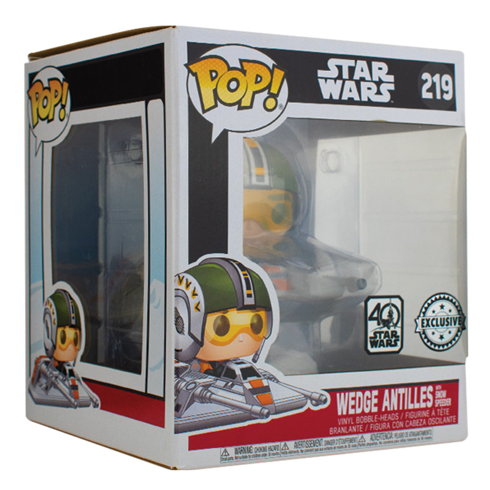 PPJoe Star Wars Wedge Antilles, Boba Fett with Slave One Pop Protektor