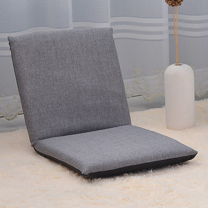 Foldable Floor Chair Adjustable Relaxing Lazy Sofa Seat Cushion Lounger
