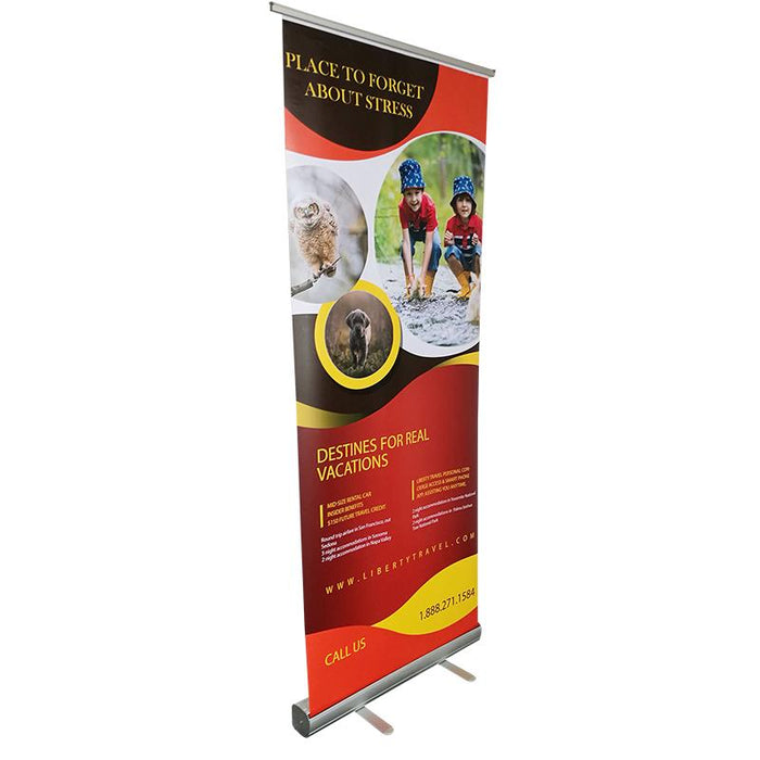BANNER STAND RETRACTABLE BANNER STAND