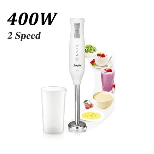 400W Colorful 2 Speeds Electric Food Blender Mixer Kitchen Detachable Hand Blender Egg Beater Vegetable Stand Blend Sonifer