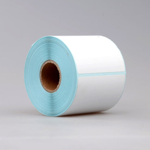 500pcs/lot New Blank White Self Adhesive Stickers Shipping Printer Label Rolls Thermal label 10*10cm