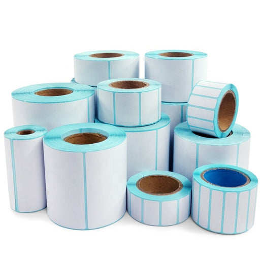 Thermal Label Sticker Width 20mm~80mm Thermal label paper bar code paper self-adhesive paper thermal sticker paper