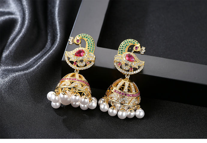 Jhumki Earrings - Mirza By SMK