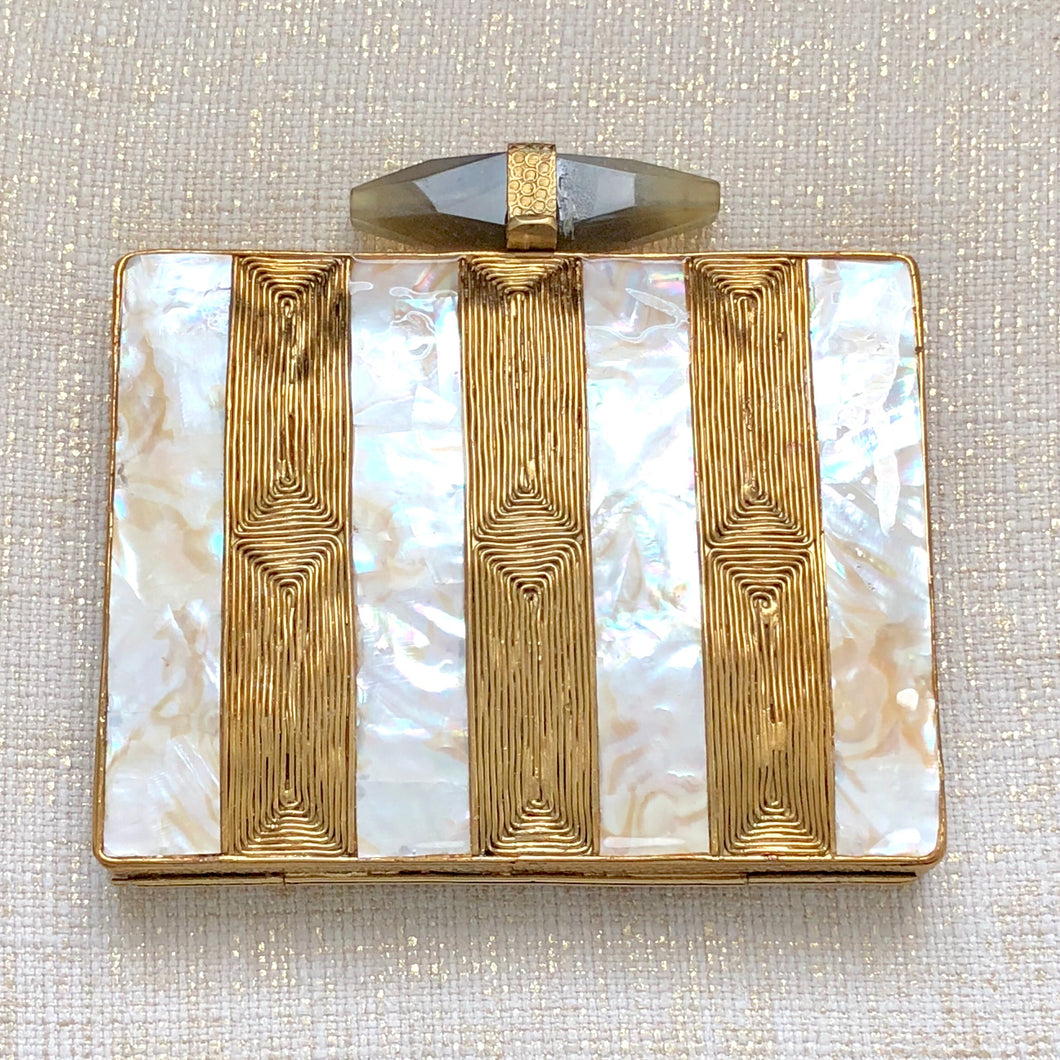 Mother of Pearl Trendy Clutch