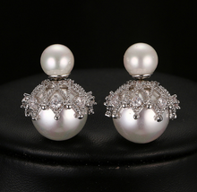 Pearl Stud Earrings - Mirza By SMK