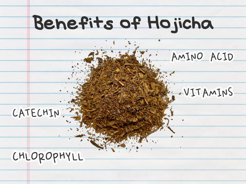 benefits of hojicha