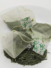 "Load image into Gallery viewer, ""Smile Tea"" Organic Kabusecha Sencha green tea (10 tea bags)"