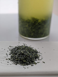 """Smile Tea"" Organic Kabusecha Sencha Green Tea (Loose Leaf) Award Winning in 2018, 100grams"