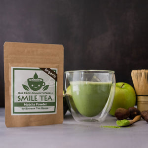 """Smile Tea"" Organic First flush Matcha (ceremonial grade), 40grams"