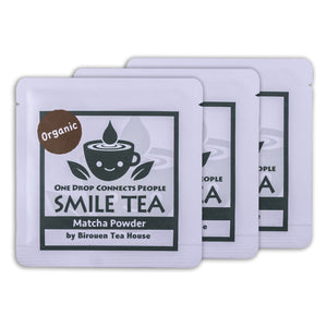 """Smile Tea"" Organic First flush Matcha (ceremonial grade), 10grams"