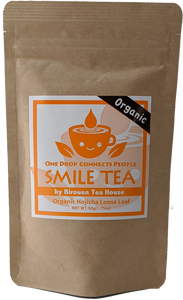 """Smile Tea"" Organic Premium Hoji Roasted Tea (Loose Leaf)"