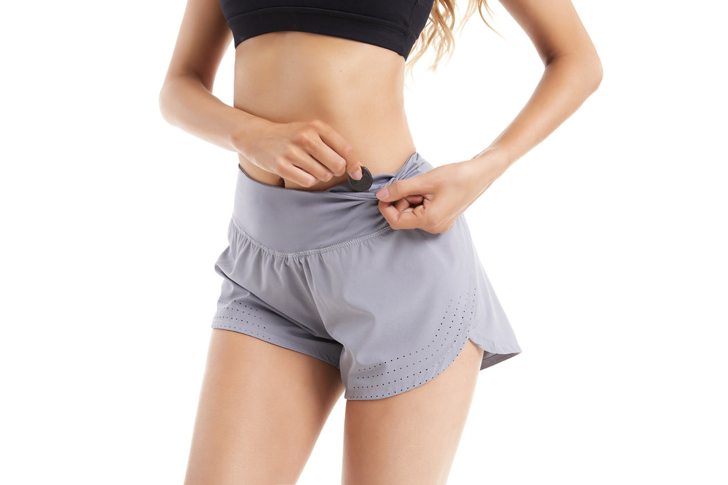 Fast and Free 2 in 1 Running Shorts with Pockets