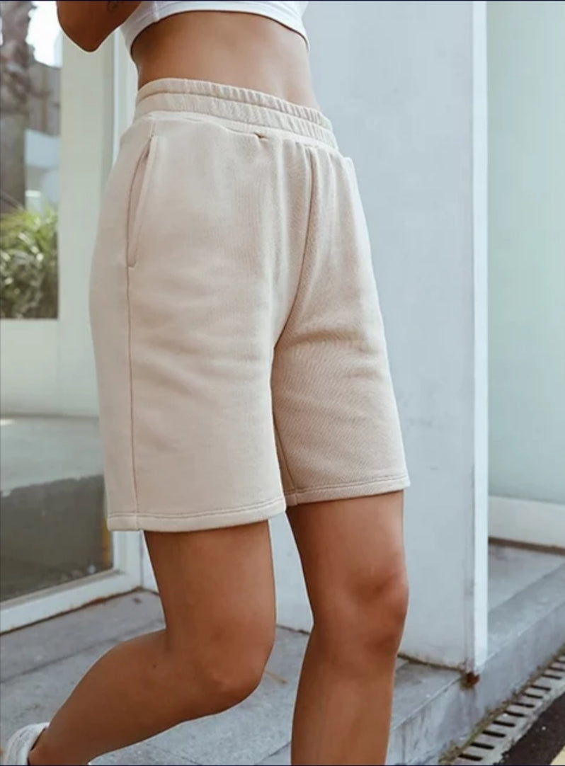 Relaxed Women's Sweat Shorts