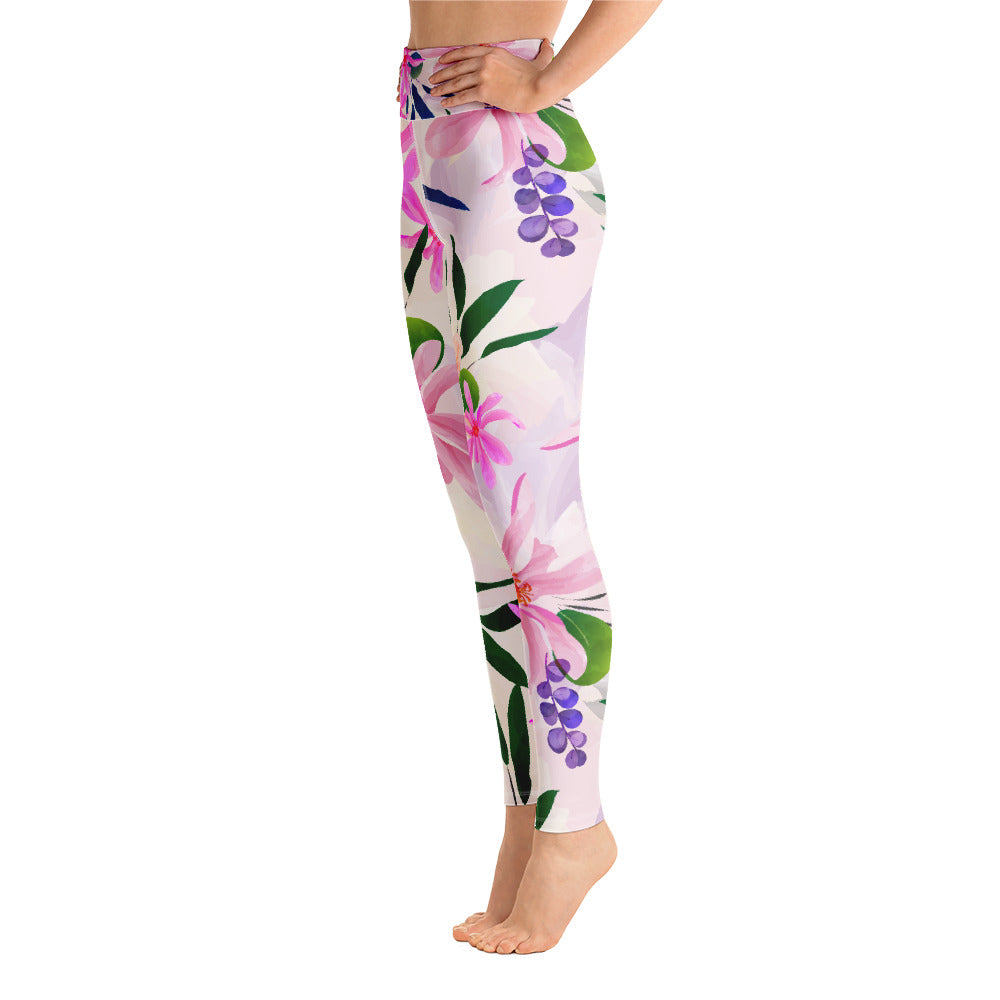 Botanical Yoga Leggings