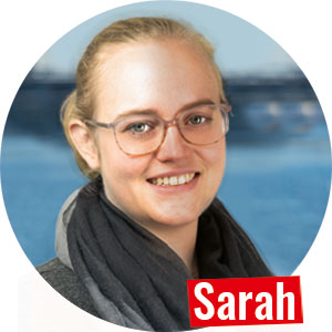 Sarah Shop-Managerin