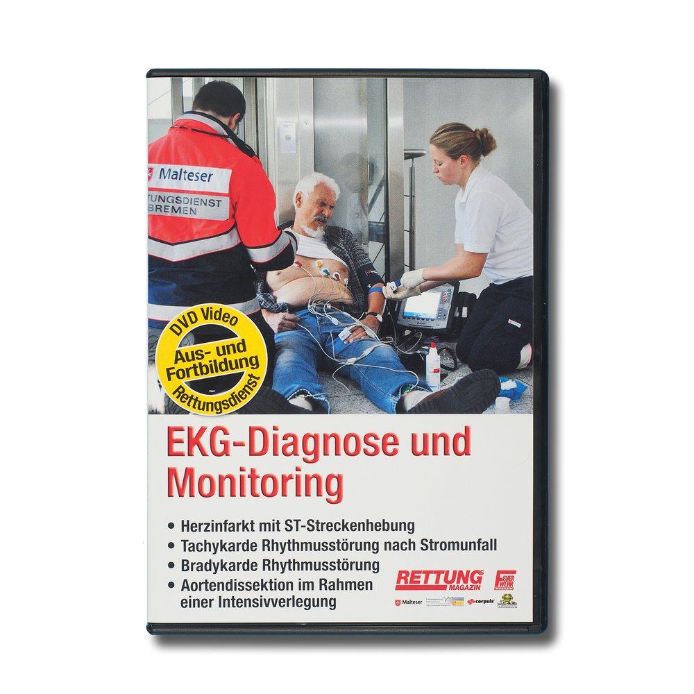 DVD EKG-Diagnose und Monitoring