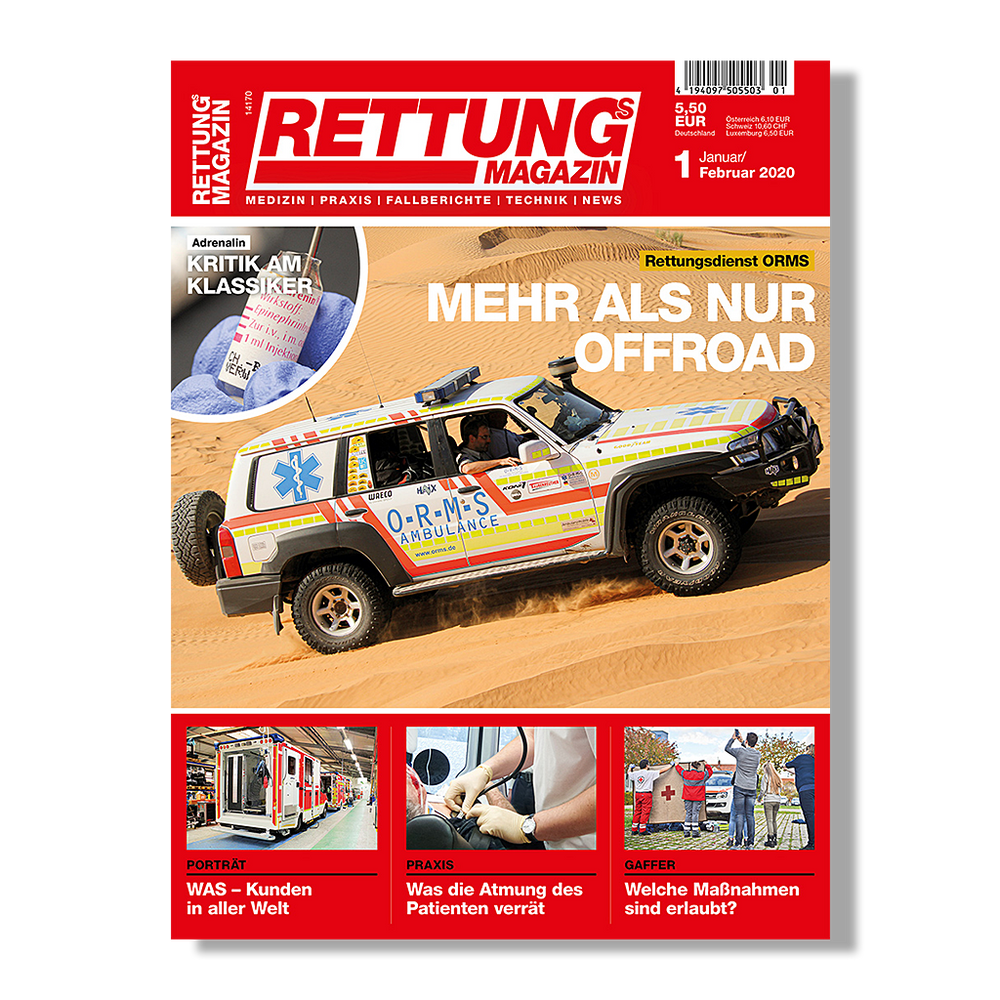 Rettungs Magazin 1/2020 - DIGITAL