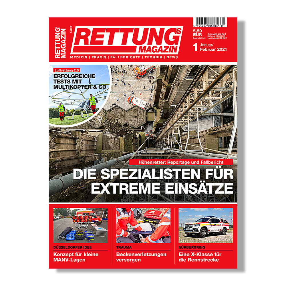 Rettungs-Magazin 1/2021
