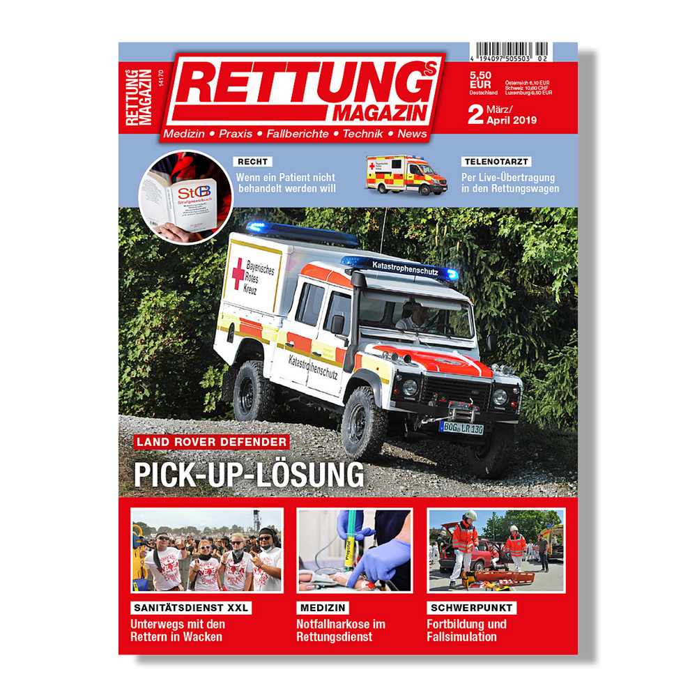 Rettungs-Magazin 2/2019