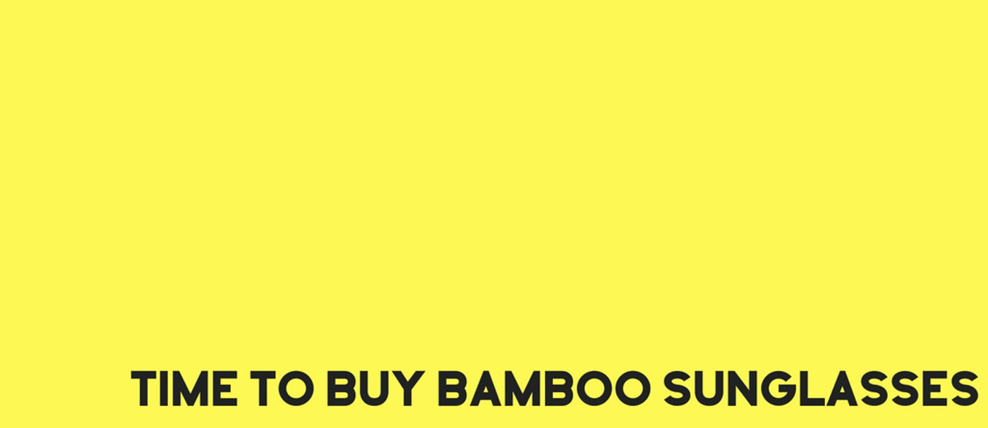 Buy Bamboo Sunglasses