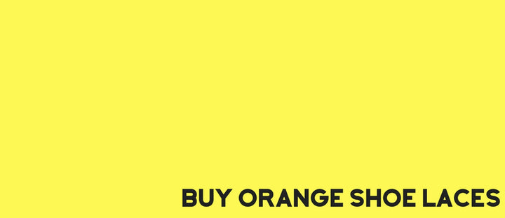 buy orange shoe laces