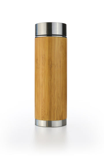 Bamboo Tea Infuser Water Bottle