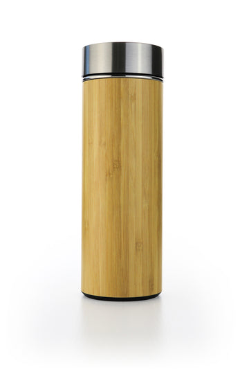 Bamboo Water Bottle Ted and Lemon