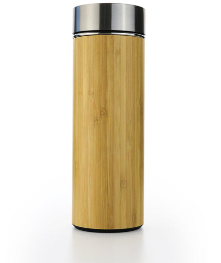 Bamboo Water Bottle Flask