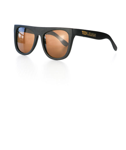 Black Bamboo Sunglasses - Teddy