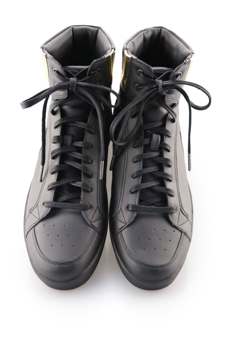 Black Sneaker Shoe Laces Ted and Lemon