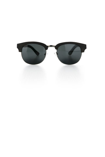 Black Wood Sunglasses - Alfy Ted and Lemon