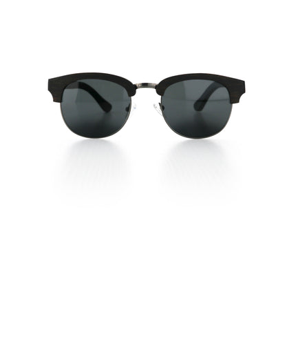 Black Wood Sunglasses - Alfy