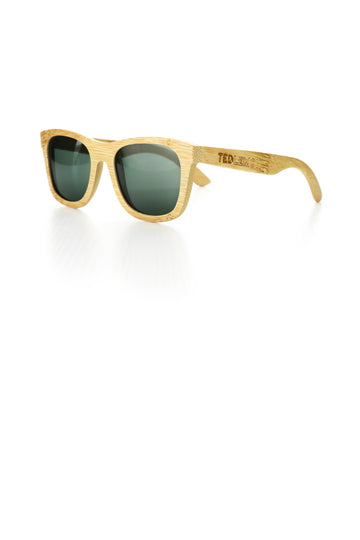 Blonde Bamboo Sunglasses - Penelope