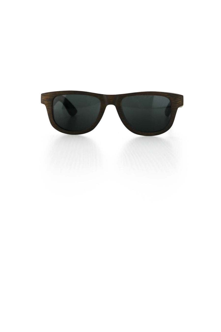 Brown Bamboo Sunglasses - Bailey Ted and Lemon side