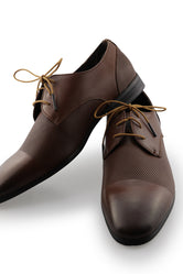 Brown Business Shoe Laces - Chocolate
