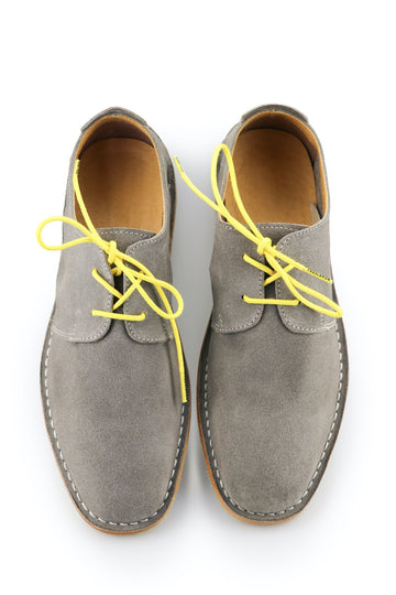 Shoe Laces Lemon Yellow Waxed Cotton Ted and Lemon