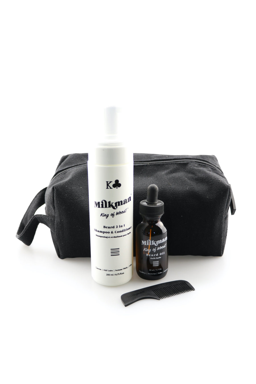 Milkman grooming essentials beard care kit