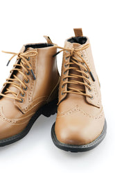Brown Dress Boot Laces - Chocolate