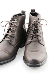 Dark Brown Dress Boot Laces - Cocoa