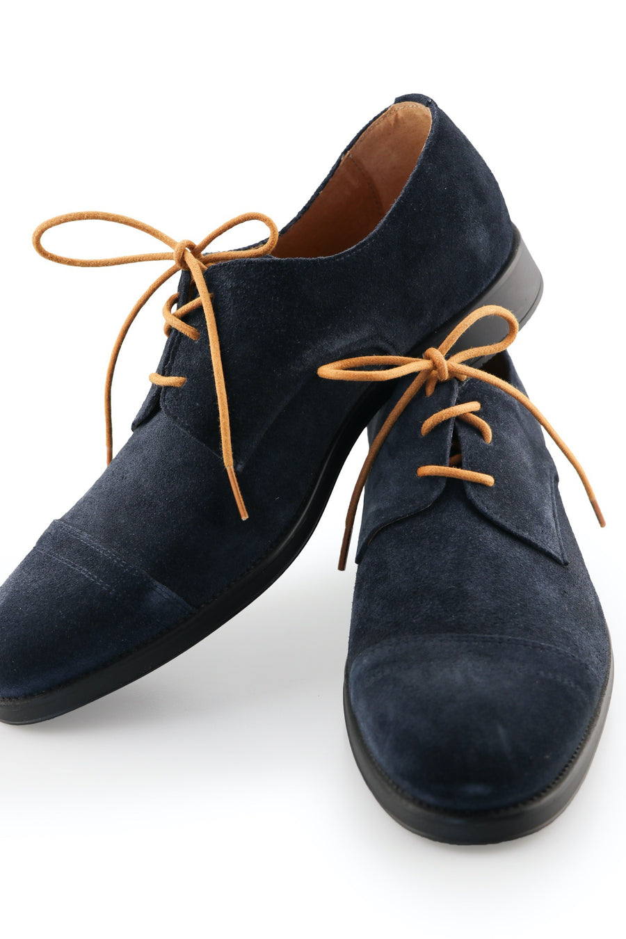 Shoe Laces Coffee Shoe Laces Dark Cocoa Waxed Cotton Ted and Lemon