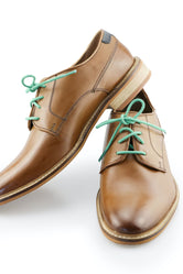 Deep Green Shoe Laces - Mint Leaves